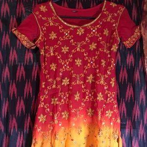 Dresses & Skirts - Beautiful colorful Salwar Kameez